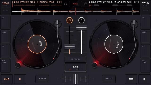 Hướng dẫn chơi DJ trên điện thoại bằng Edjing Mix