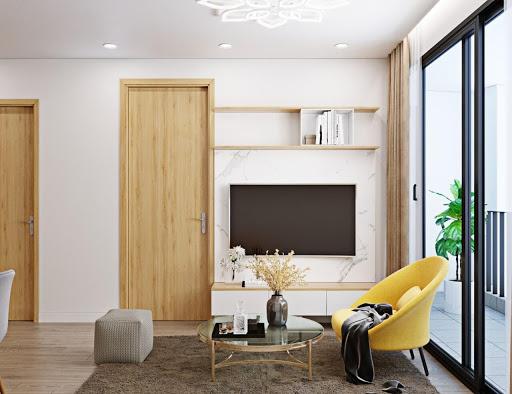 Thiết kế vách kính trong thiết kế căn hộ sang trọng