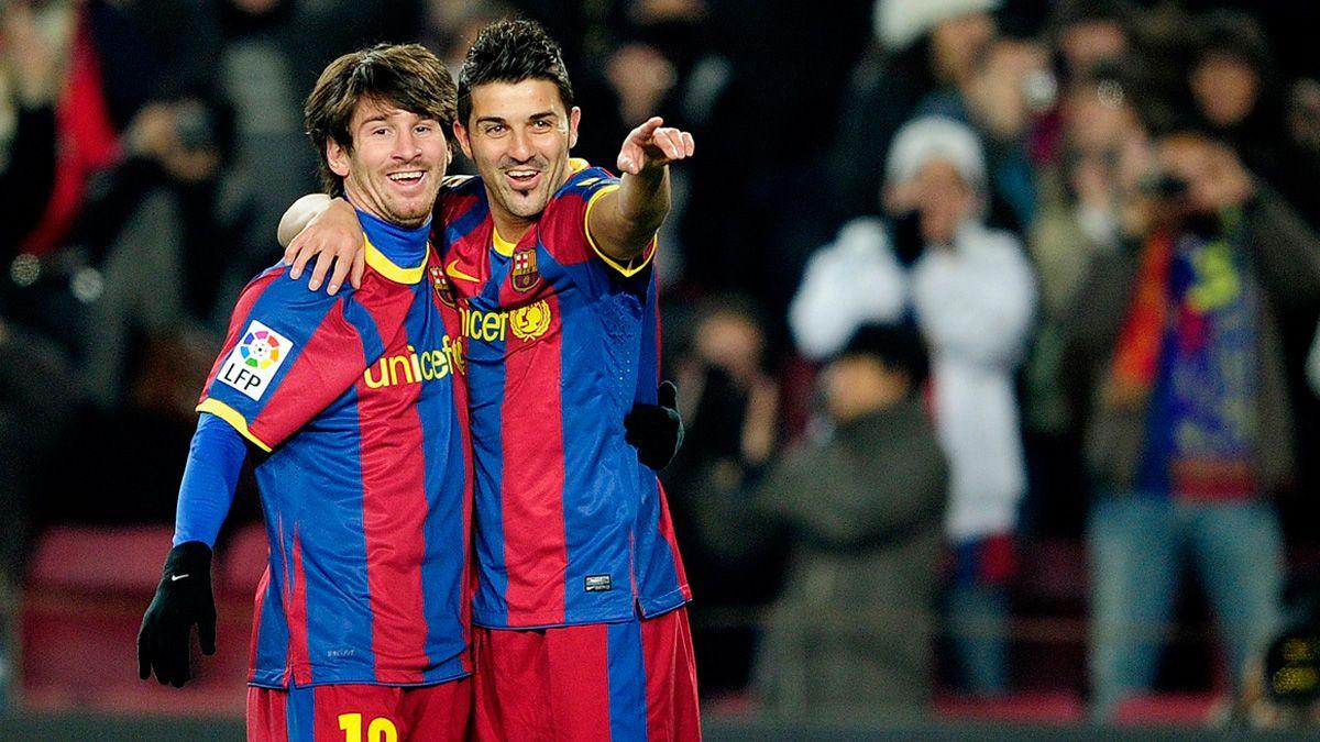 David Villa và Messi là những đồng đội tốt trên sân cỏ